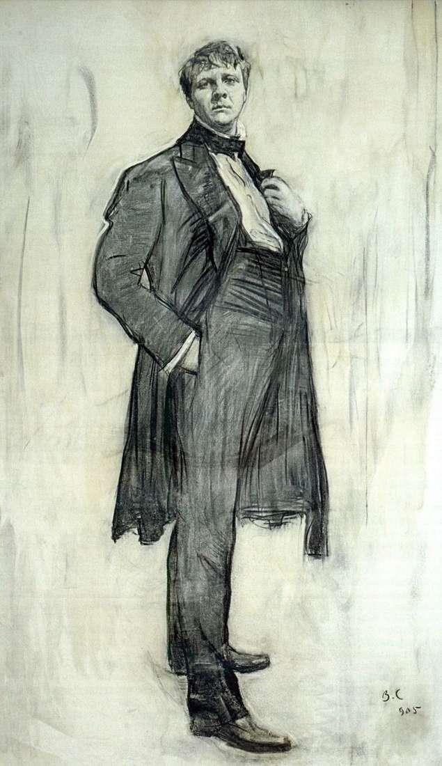 Retrato del artista F. I. Chaliapin   Valentin Serov