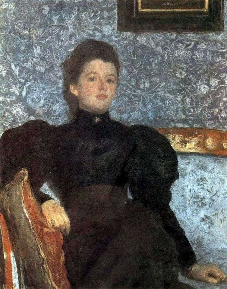 Retrato de V. V. Musina Pushkina   Valentin Serov