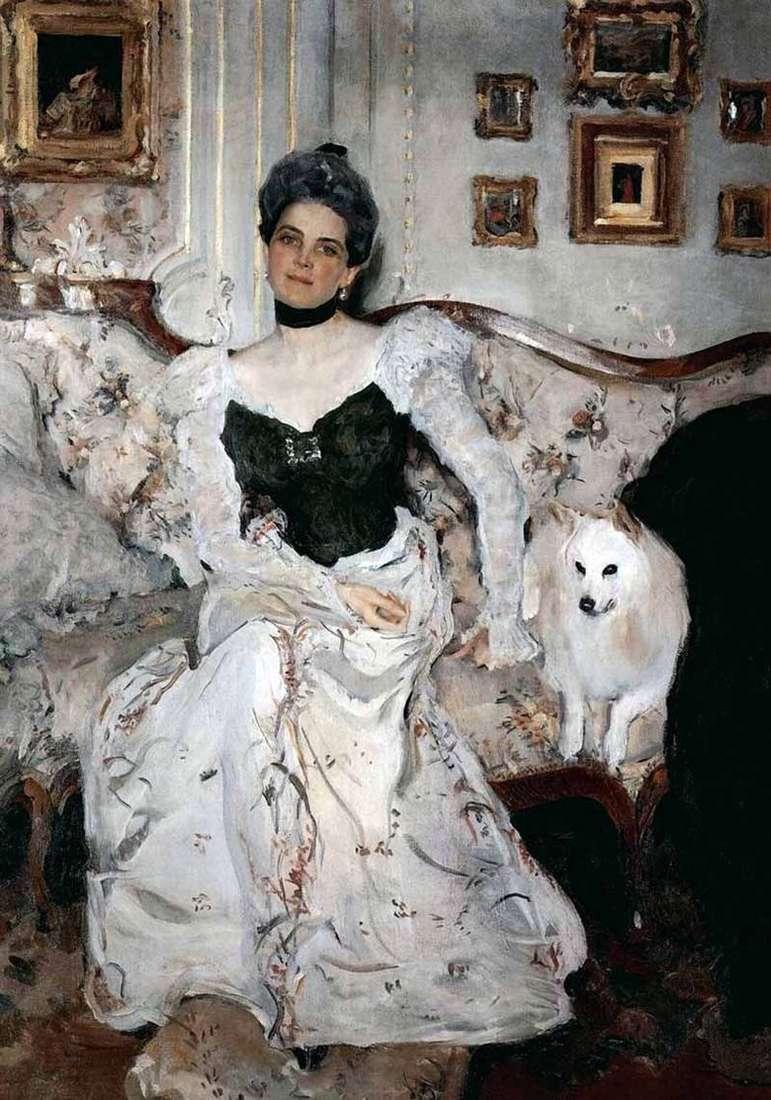 Retrato de la princesa Z. N. Yusupova   Valentin Serov
