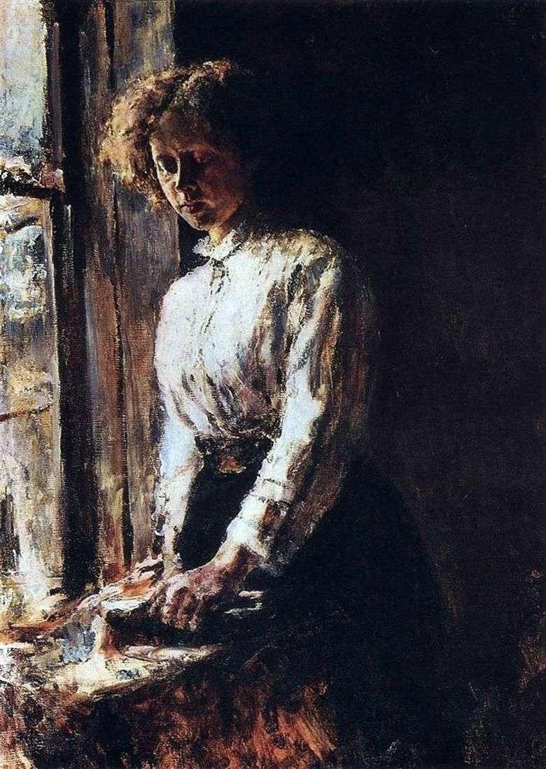 Por la ventana   Valentin Serov