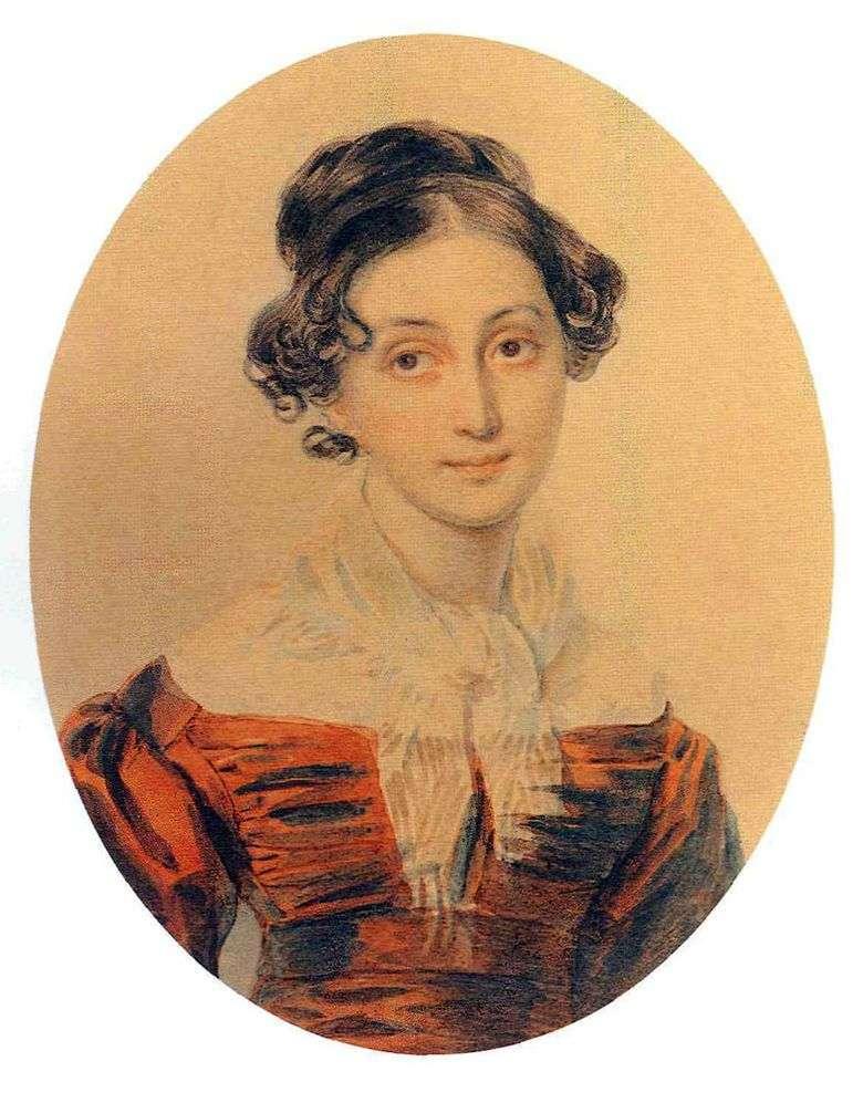 Retrato A. A. Olenina   Peter Sokolov