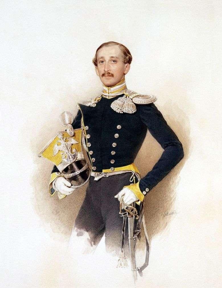 Retrato de A. V. Veliyashev   Peter Sokolov