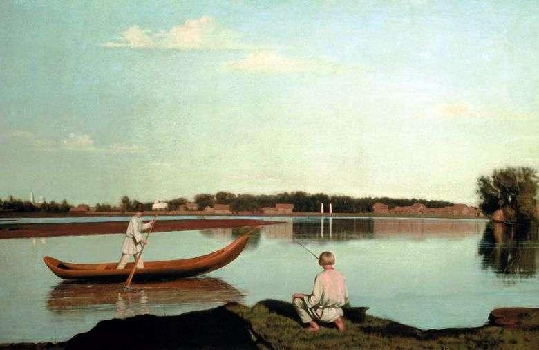 Los pescadores Ver en la finca Spasskoe   Gregory Soroka