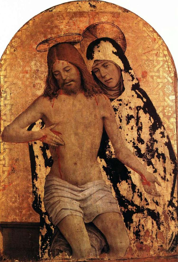 María con el cuerpo de Cristo   Jan Spantsotti