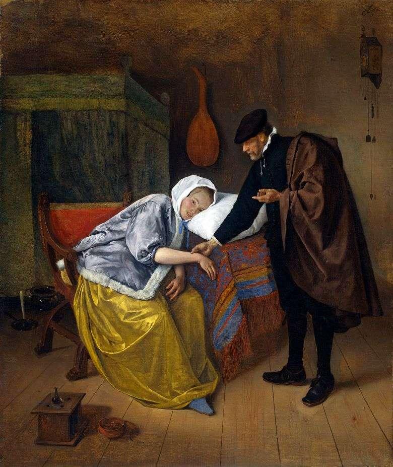 Médico y paciente   Jan Steen