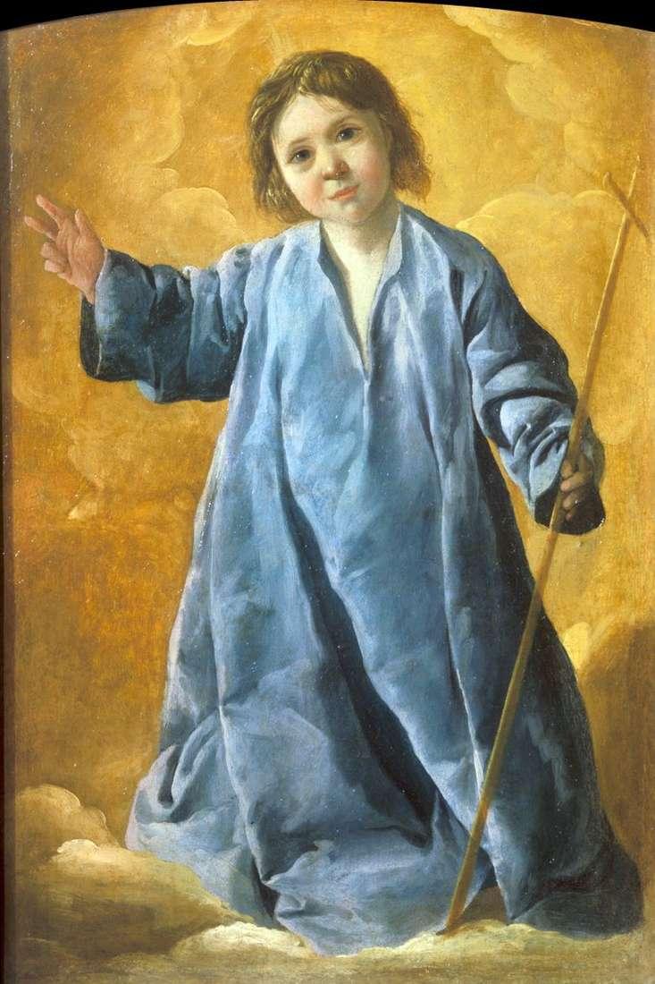Bebé Cristo   Francisco de Zurbarán