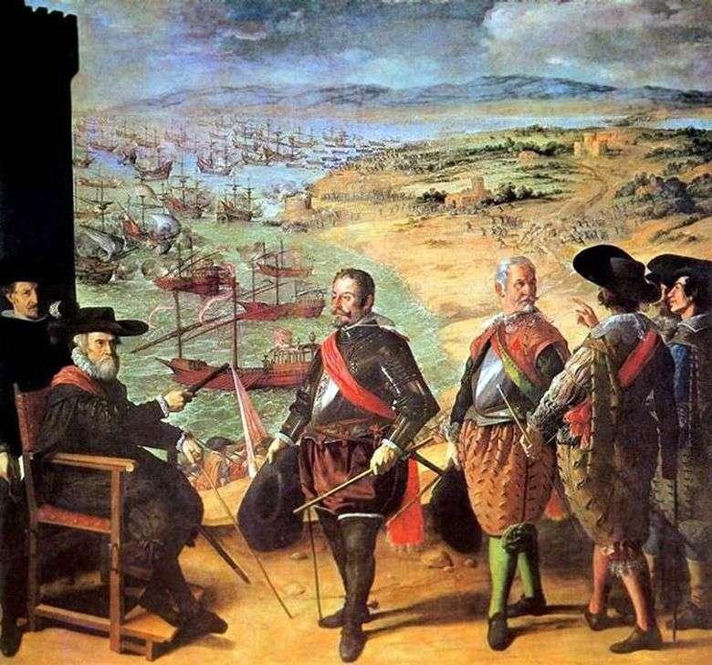 Defensa de Cádiz   Francisco de Zurbarán