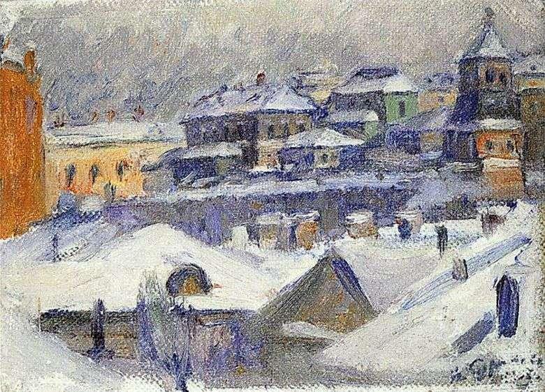 Vista de Moscú   Vasily Surikov