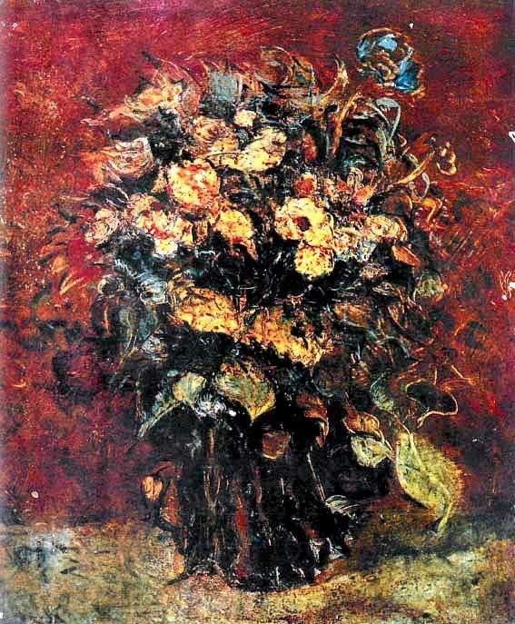 Flores de jardín   Vladimir Tatlin