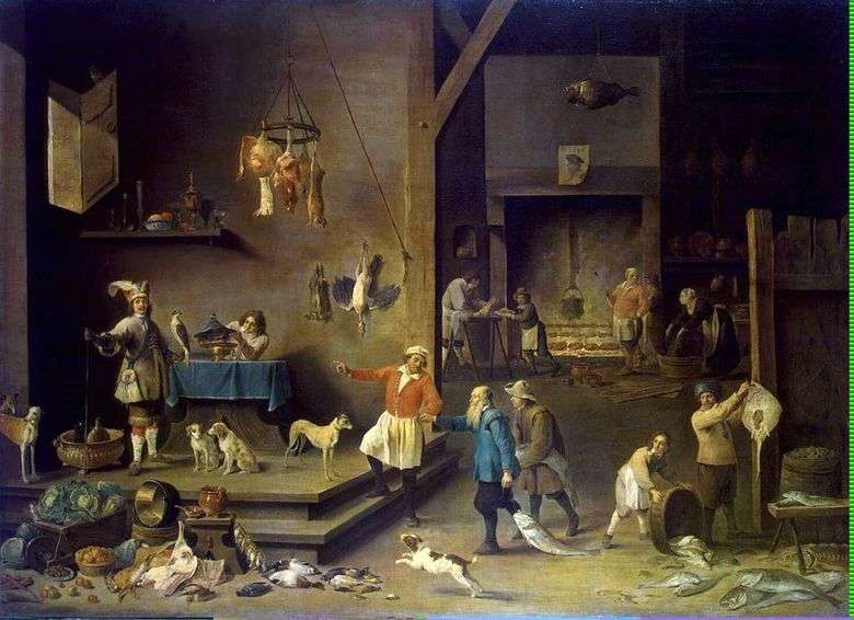 Cocina   David Teniers