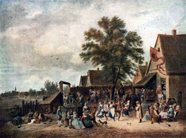 Vacaciones en el pueblo   David Teniers