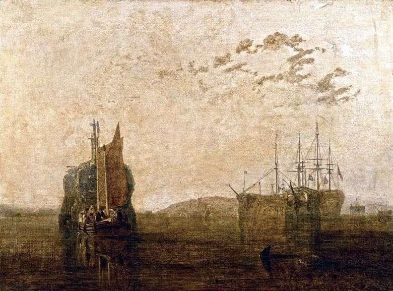 Prisión flotante   William Turner