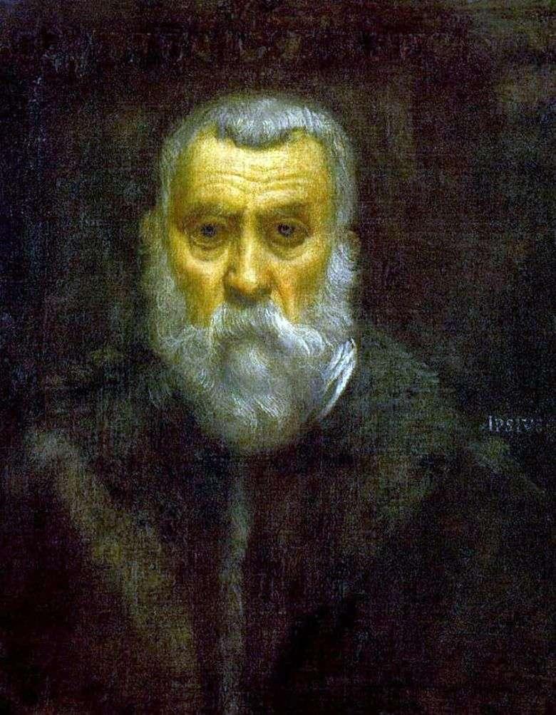 Autorretrato   Jacopo Tintoretto
