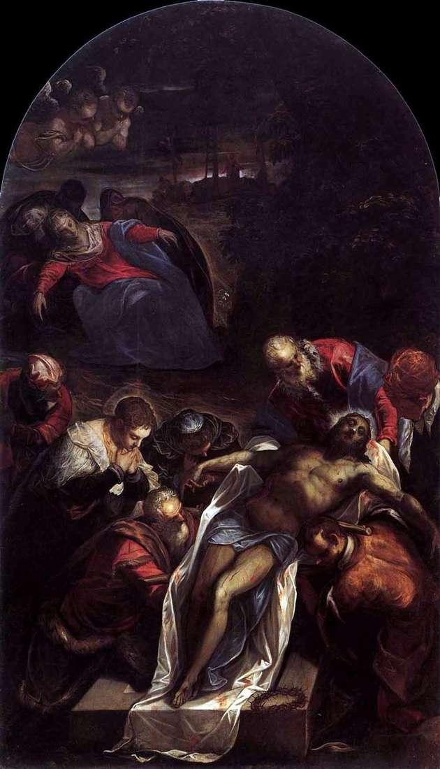 Entierro   Jacopo Tintoretto