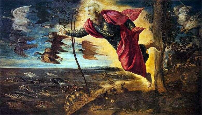 Creación Animal   Jacopo Tintoretto