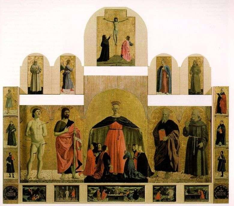 Imagen de altar de la Iglesia de la Hermandad de la Misericordia   Piero della Francesca