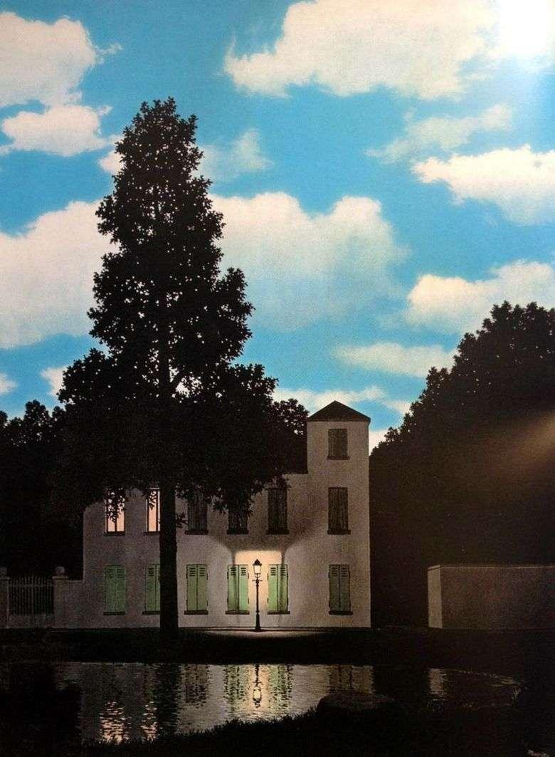 Imperio de la Luz   Rene Magritte