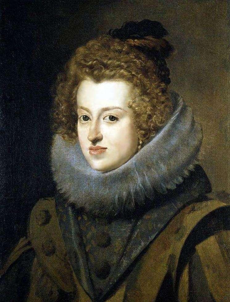 Infanta Maria Anna, reina de Hungría   Diego Velásquez