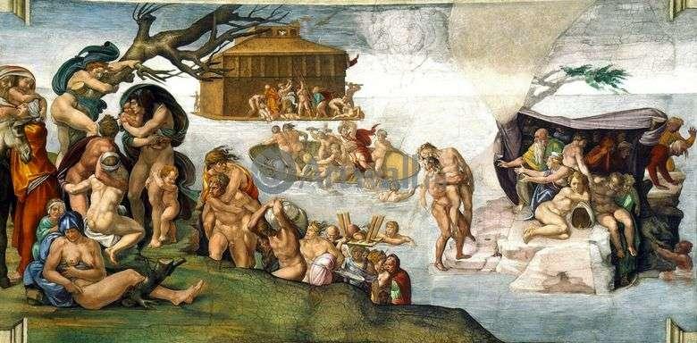 Inundación   Michelangelo Buonarroti