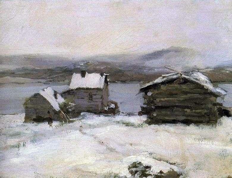 Invierno en Laponia   Konstantin Korovin