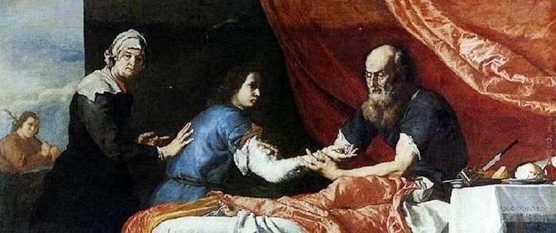 Isaac bendice a Jacob   Jusepe Ribera