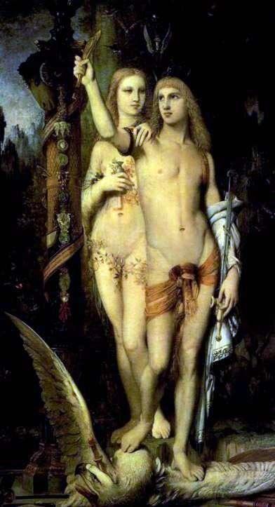 Jason y Medea   Gustave Moreau