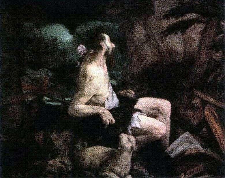 Juan el Bautista en el desierto   Jacopo Bassano