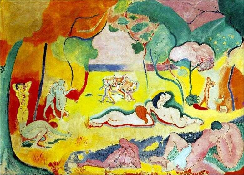 La alegría de la vida   Henri Matisse