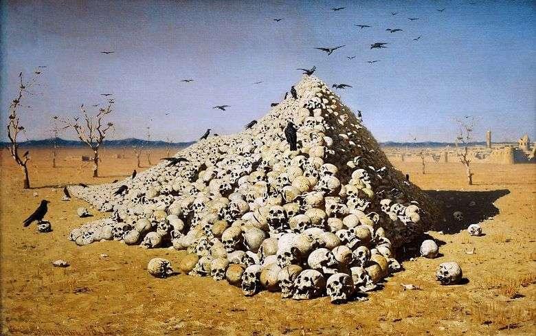 La apoteosis de la guerra   Vasily Vereshchagin