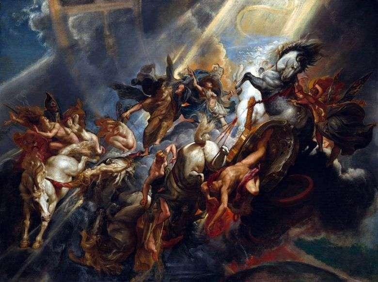 La caída de Phaeton   Peter Rubens