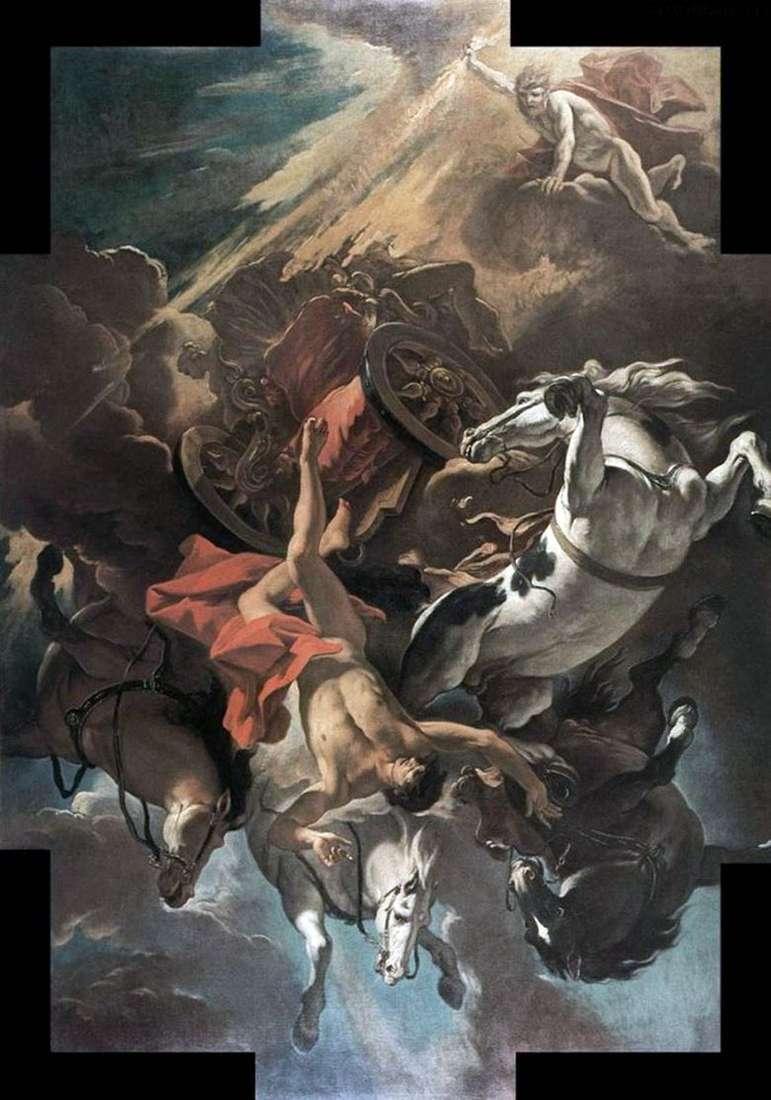 La caída de Phaeton   Sebastiano Ricci
