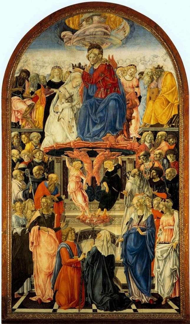 La Coronación de María   Francesco di Giorgio Martini