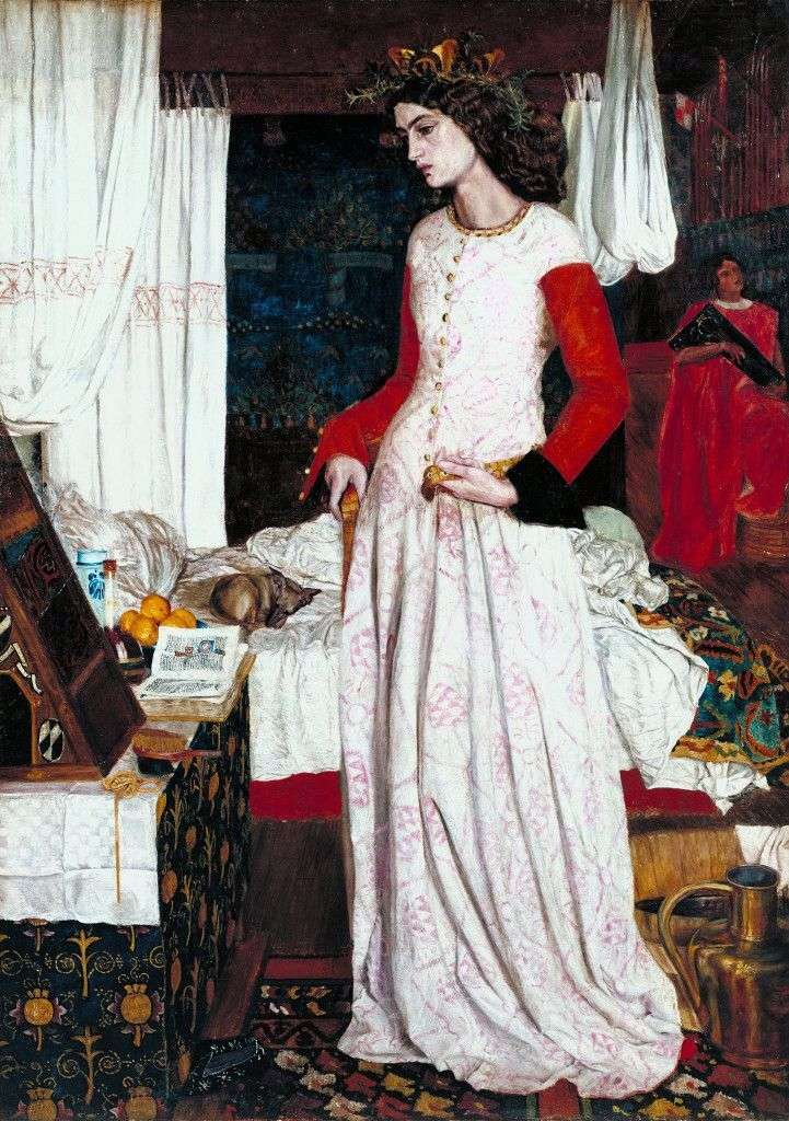 La hermosa Isolda   William Morris