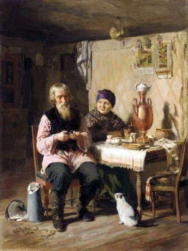 La hora del té   Alexey Korzukhin