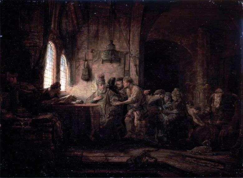La parábola de los trabajadores en el viñedo   Rembrandt Harmens Van Rhine