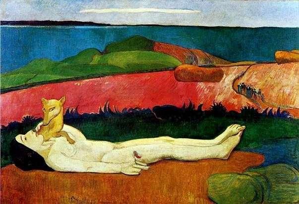 La pérdida de la inocencia   Paul Gauguin