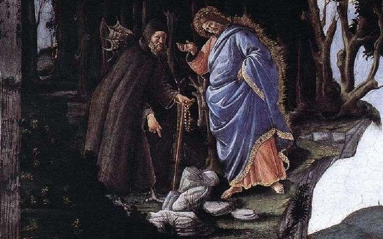 La tentación de Cristo   Sandro Botticelli