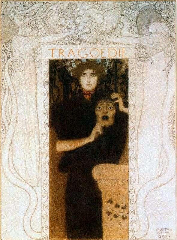 La tragedia   Gustav Klimt