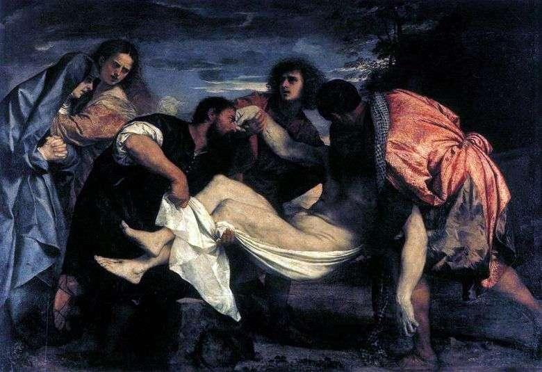 La tumba   Titian Vecellio