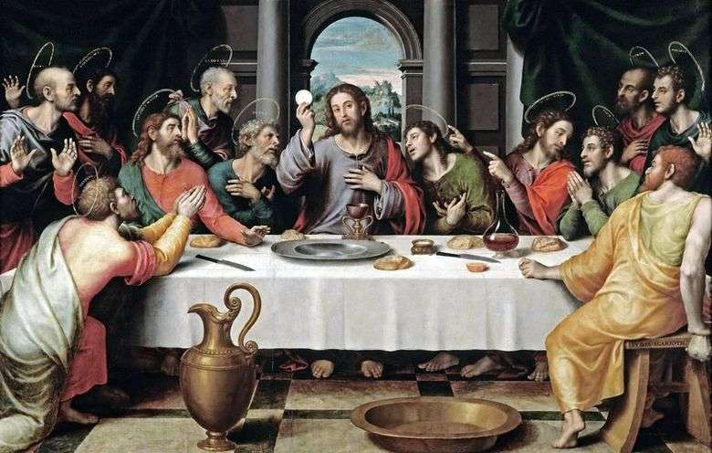 La última cena   Juan de Juanes