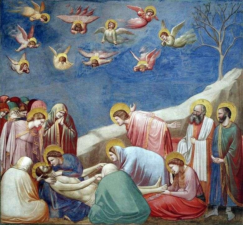 Lamentación de Cristo   Giotto