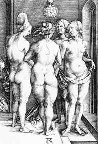 Las cuatro brujas   Albrecht Durer