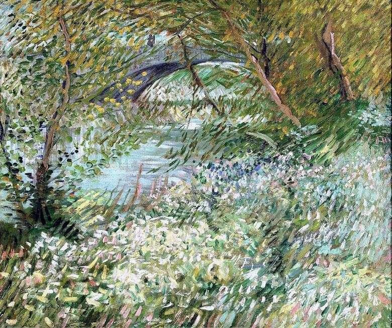Las orillas del Sena en Pont de Clichy en primavera   Vincent Van Gogh