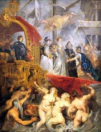 Llegada de Marie de Medici a Marsella   Peter Rubens