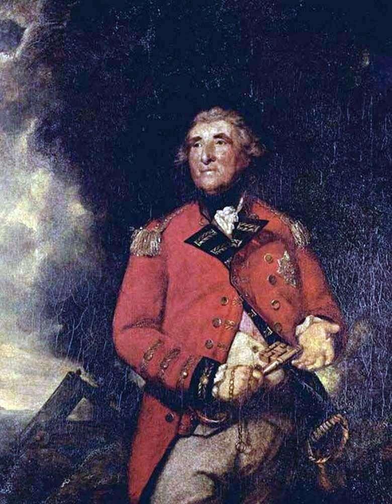 Lord Heathfield, gobernador de Gibraltar   Reynolds Joshua
