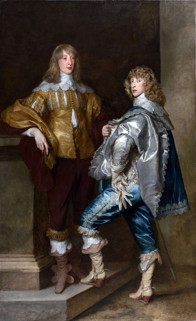 Lord John Stewart y Lord Bernard Stewart   Anthony Van Dyke