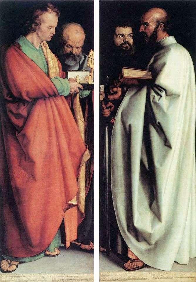 Los cuatro apóstoles   Albrecht Durer