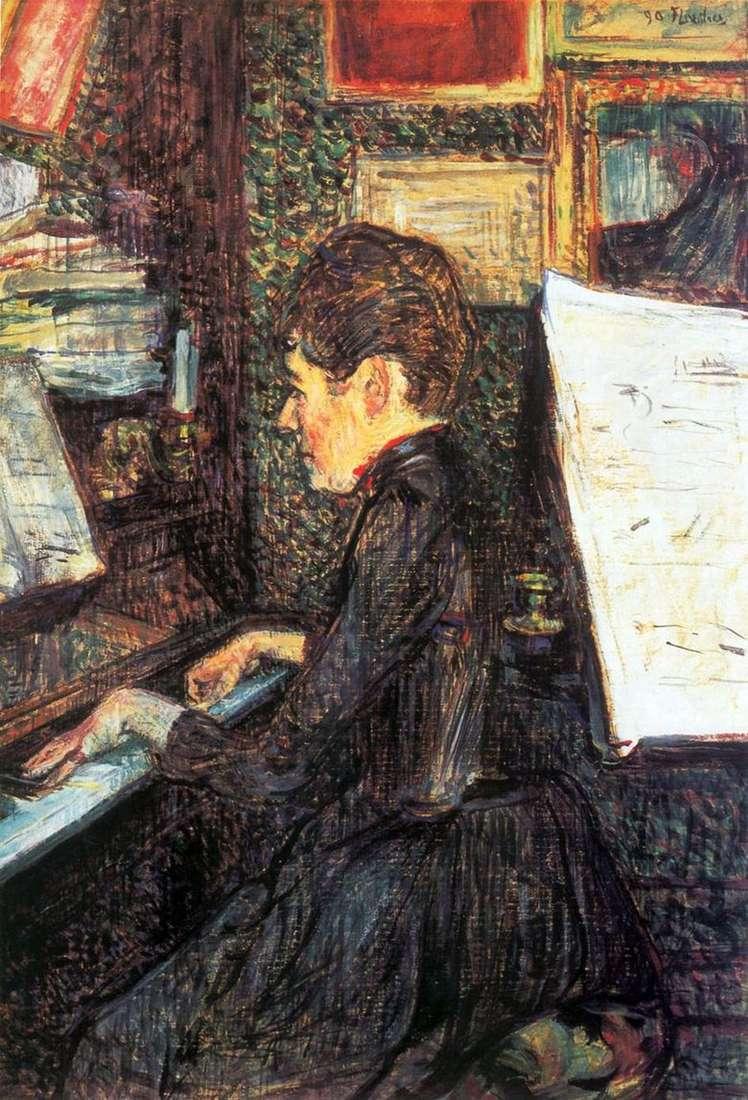 Pongan un cuadro en su vida - Página 20 Mademoiselle-dio-al-piano-henri-de-toulouse_1