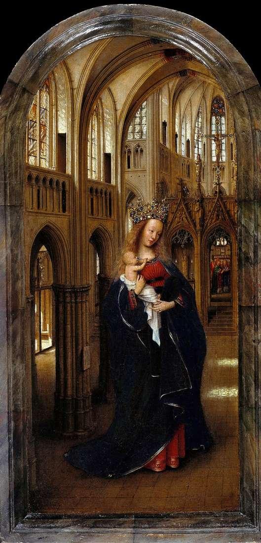 Madonna en la iglesia   Jan van Eyck