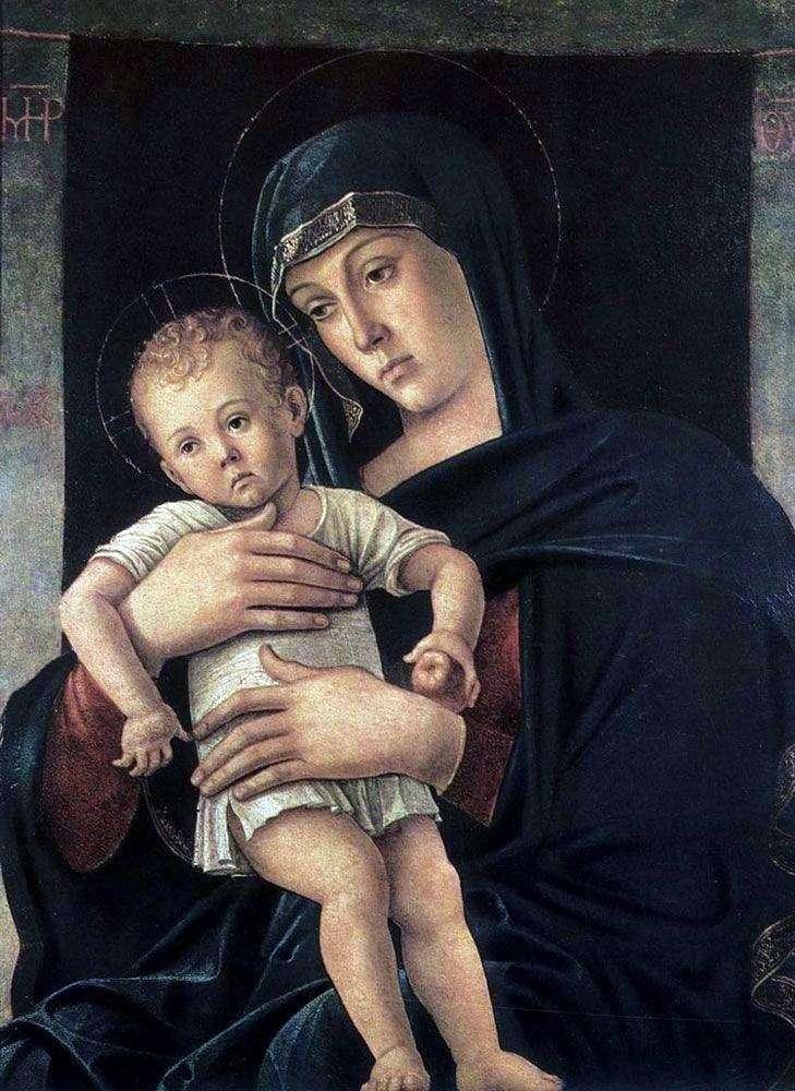 Madonna griega   Giovanni Bellini